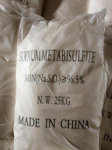 SODIUM METABISULPHITE 99%  ( Na2S2O5 )