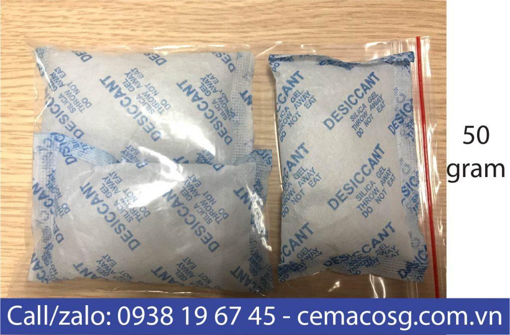 túi chống ẩm silica gel 50g