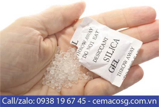gói hút ẩm silica gel