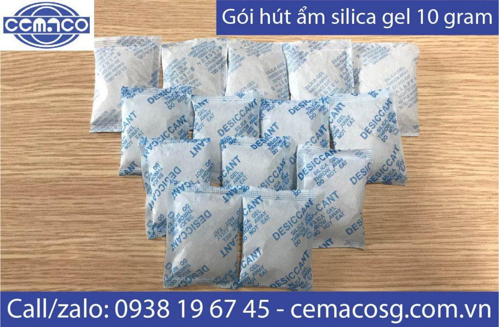 Túi hút ẩm silica gel 10 cho thực phẩm