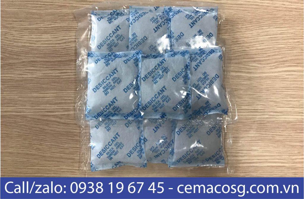 Túi hút ẩm silica gel 20g cho thực phẩm
